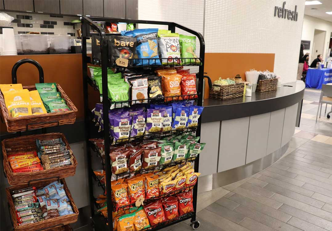 Vending machines in the Greater Denver and Front Range area