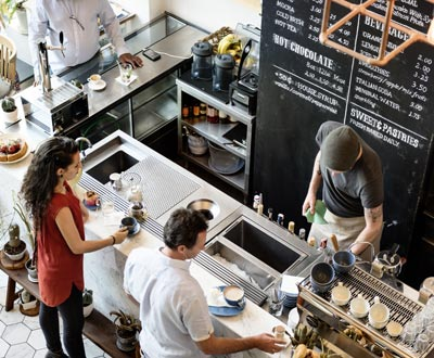 cafe service and office coffee service in Denver